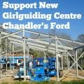 Chandler's Ford girlguiding fundraising.