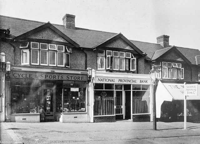 Bournemouth Road Chandler's Ford - date unknown. Image from Eastleigh Local History Society.