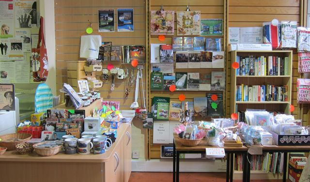 Endearing gift shop in Eastleigh Museum.