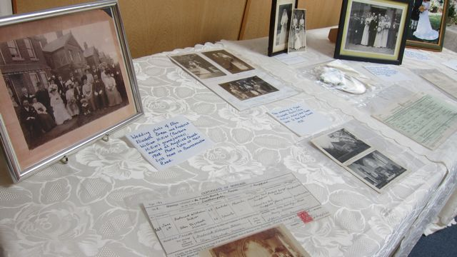 Barbara Hillier shares family history through photographs and documents.