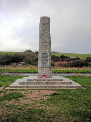 Slapton Beach Memorial taken by Jim Linwood via Flickr
