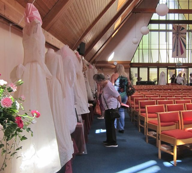 Wedding dress festival - Chandler's Ford Methodist Church.
