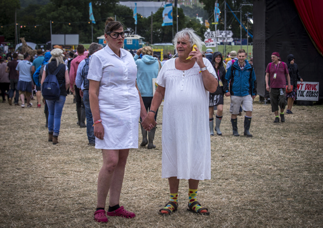 Caption Competition: Glastonbury 2015. Image: Roger Clark