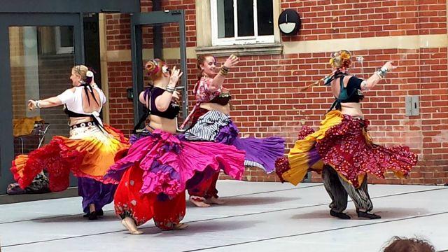 Eastleigh 10th Mela Dancers Cecily Casey image