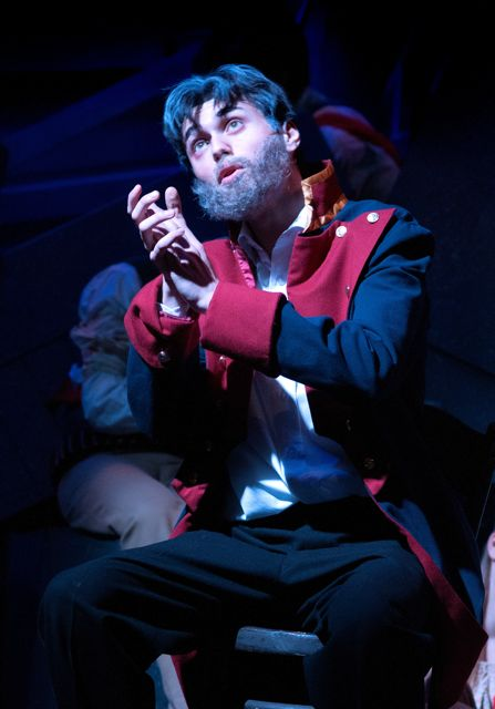 Jean Valjean is played by Jack Shaw-Downie.Barton Peveril College's production of Les Misérables, 2015.