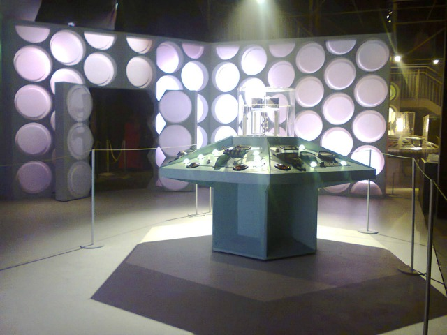 What the Tardis used to look like from the inside