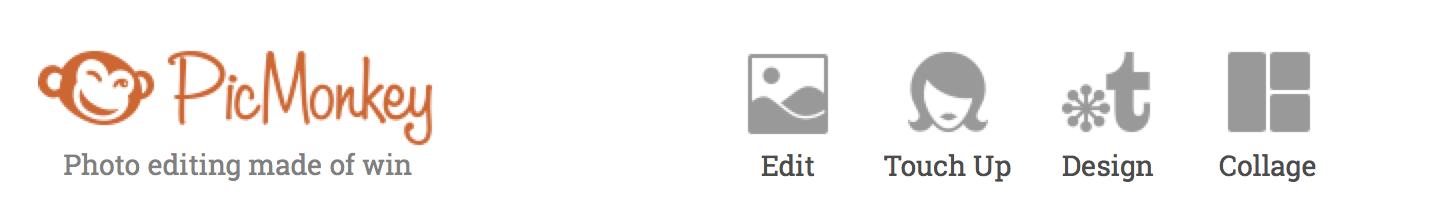 PicMonkey 1 row of icons