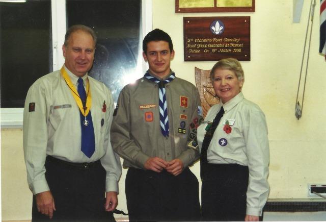 Proud Scouts...