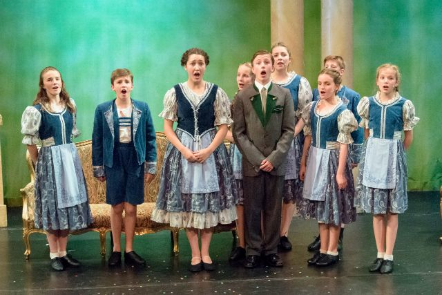 The Sound of Music by Thornden School 2015. Image credit: Clive Weeks (CW Photos)