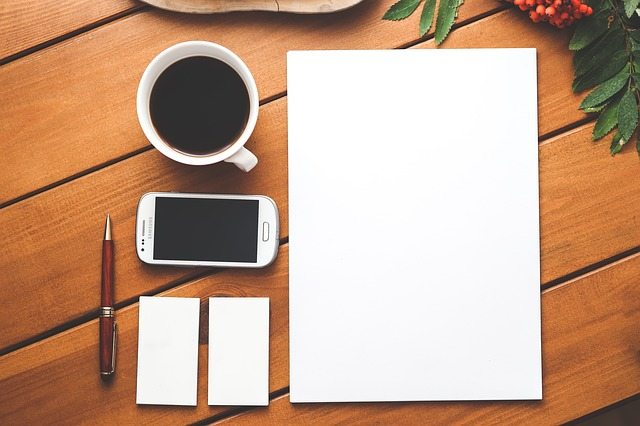 The dreaded blank page... the writer's ultimate challenge