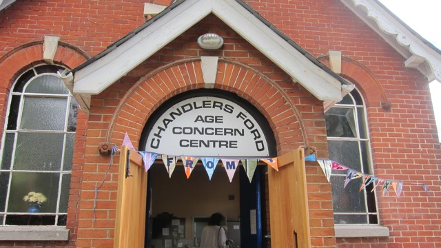 Chandler's Ford Age Concern Centre has now become a centre of craft markets.