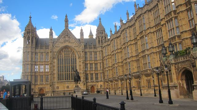I visited Houses of Parliament last weekend.