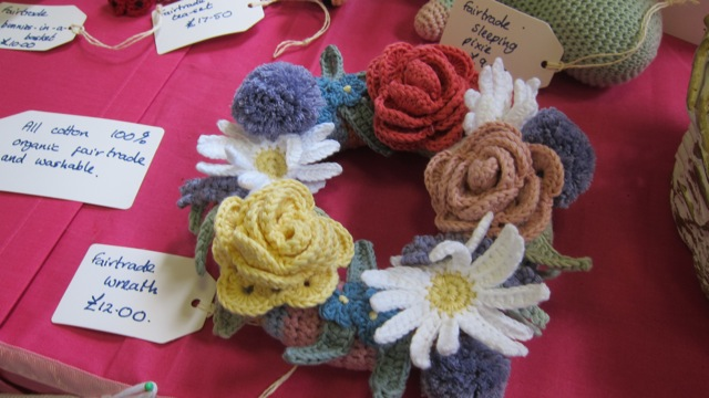 Jane Duxbury from Hiltingbury is an ethical crafter.