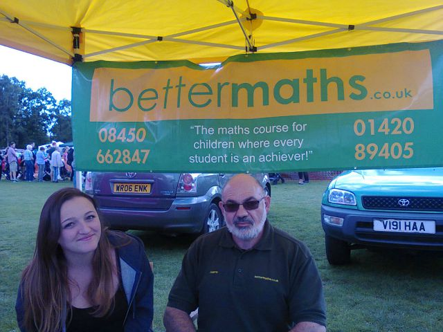 Resized BetterMaths at the Extravaganza 2015