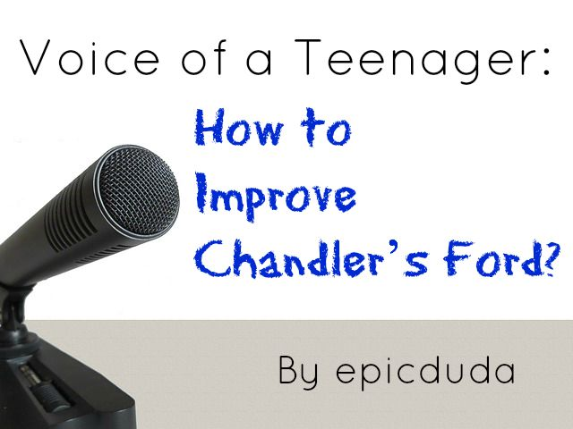improve Chandler's Ford