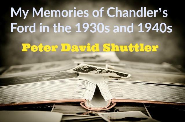 Chandler's Ford memories Peter David Shuttler