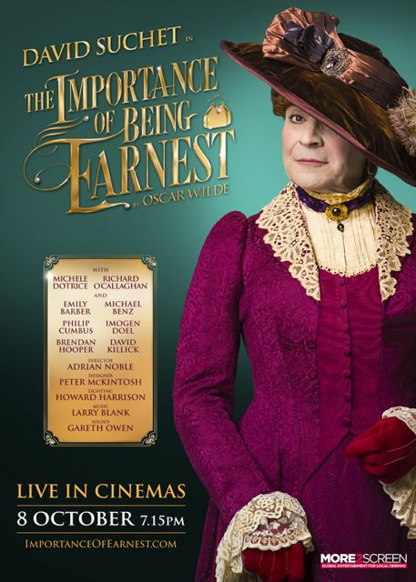 David Suchet in The Importance of Being Earnest.
