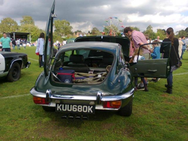Jaguar rear end