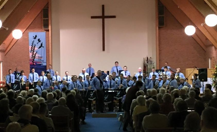 Spitfires concert Methodist Church Oct 2015