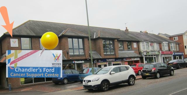 The new Wessex Cancer Trust charity shop in Chandler's Ford will support the work of this new Cancer Support Centre.