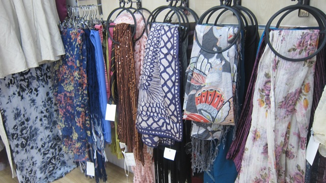 Wessex Cancer Trust new charity shop scarves