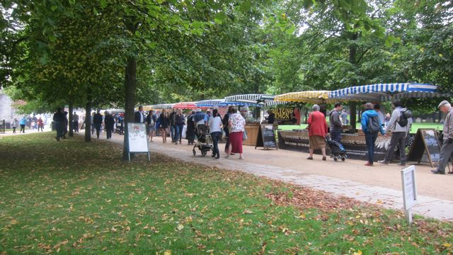 Winchester Cathedral Harvest Market 2015