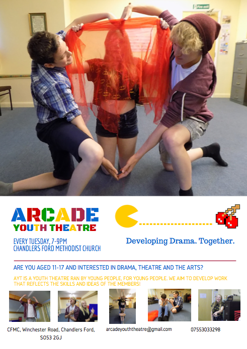 Arcade Youth Theatre in Chandler's Ford