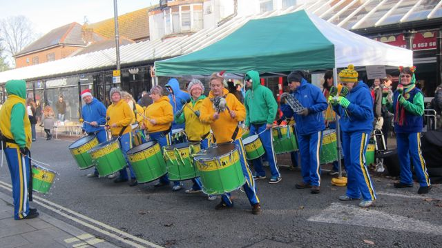 Big Noise Community Samba Band Eastleigh 21 Nov 2015