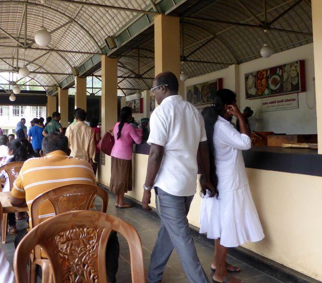 Canteen counter Sri Lanka