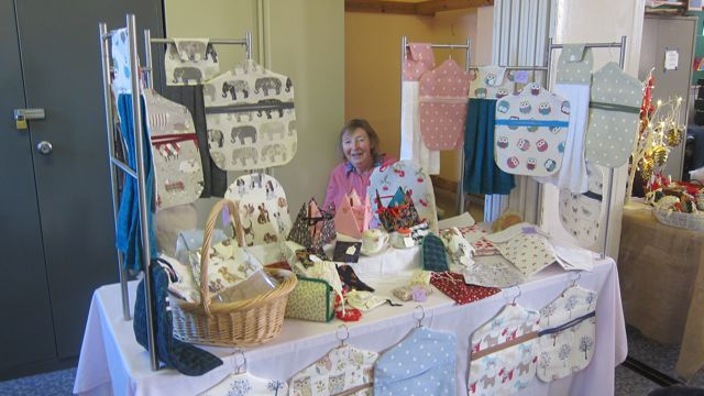 Chris Rennalls: selling household bags and unique ladies accessories.
