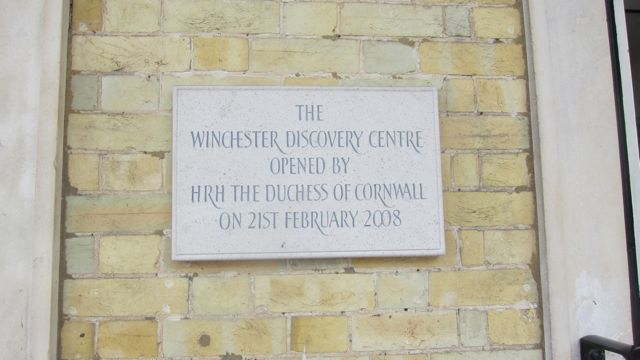Winchester Library has become a Discovery Centre.