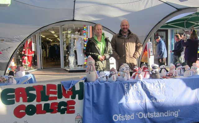 Eastleigh College Eastleigh Christmas Market 2015
