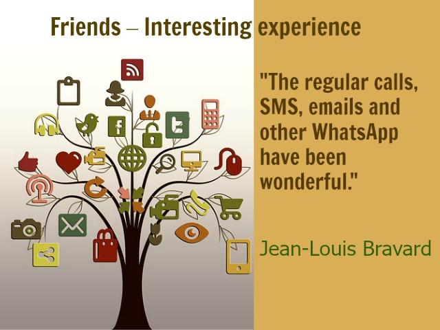 Friends Jean-Louis Bravard post