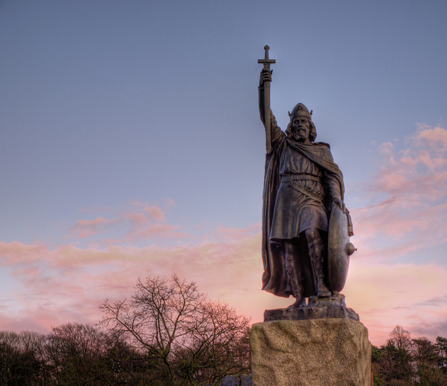 King Alfred in the Broadway