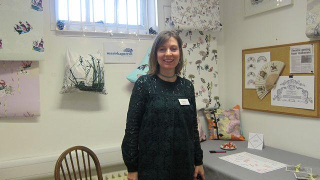 Mariska Parent- print designer.