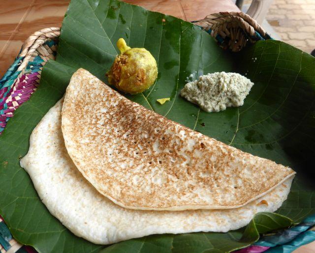 Meal of Dhosa Sri Lanka