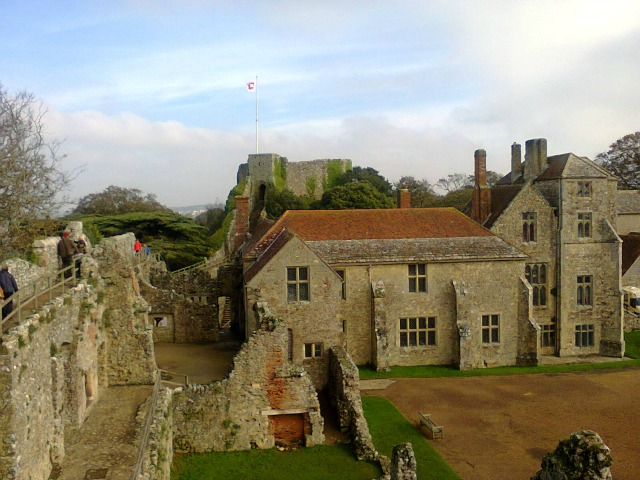 Carisbrooke Castle Walls