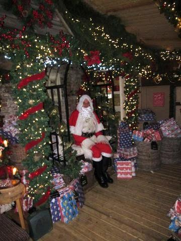 Santa at Brambridge