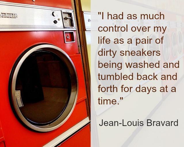 Washing machine image and text Jean-Louis Bravard