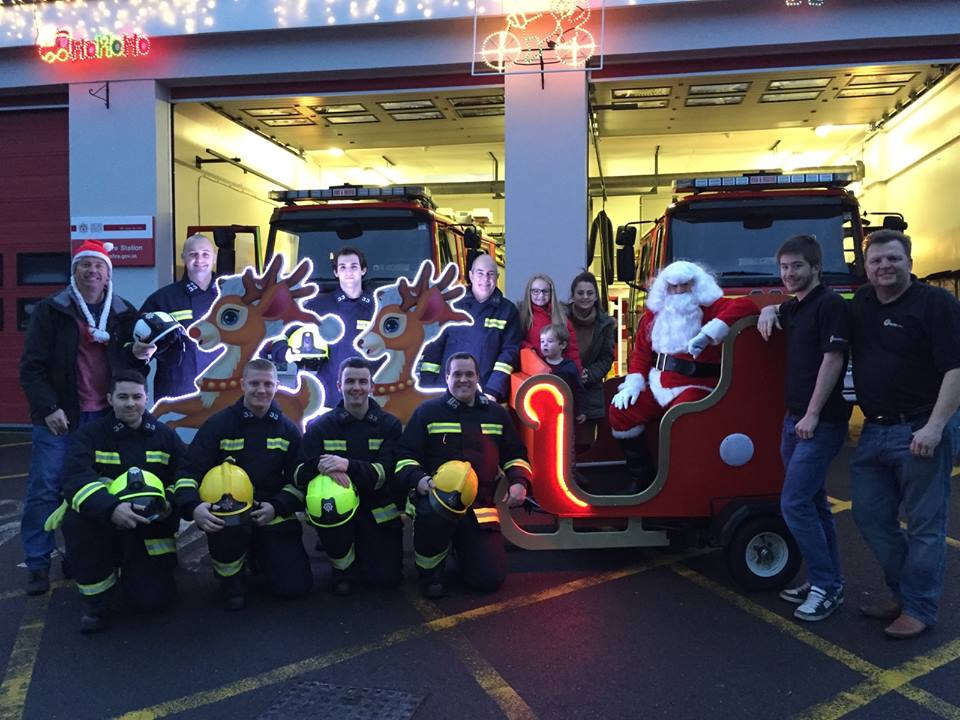 Santa Sleigh of Romsey, Chandler's Ford and District Round Table.