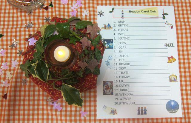 A fun Christmas Quiz at Beacon Café.
