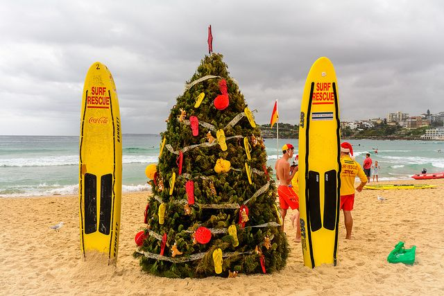 """Merry Christmas from soggy Sydney image by <a href=""""https://www.flickr.com/photos/100895643@N03/11744349666/"""">Matthew Fuentes</a> via Flickr."""