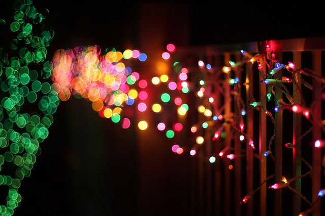 Christmas lights image by Kevin Dooley via Flickr