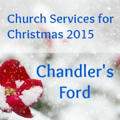 Church services Christmas 2015