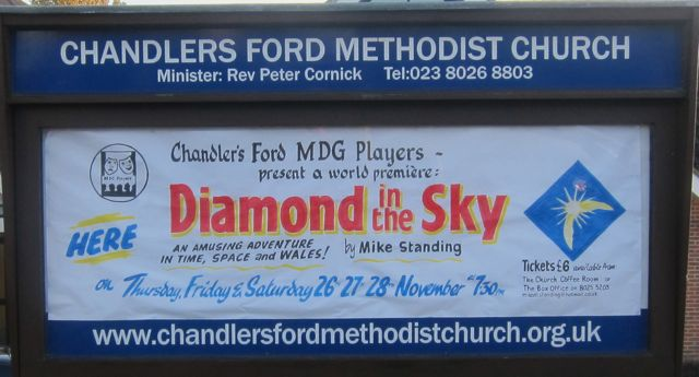 Diamond in the Sky flyer 2015 Methodist Church