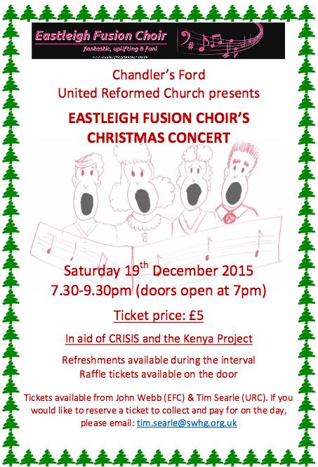 Eastleigh Fusion Choir - Fantastic, uplifting and fun.