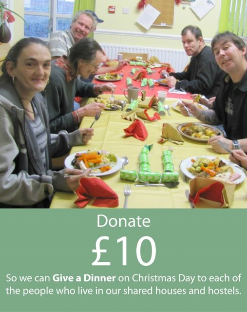 Give a Christmas Dinner – 2015. Image Credit: The Society of St James.