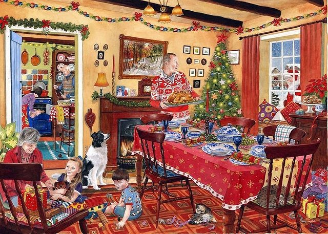 """Just how much of a British Christmas really is British? Image by <a href=""""https://www.flickr.com/photos/brizzlebornandbred/23070162004/in/dateposted/"""">Paul Townsend</a> via Flickr."""