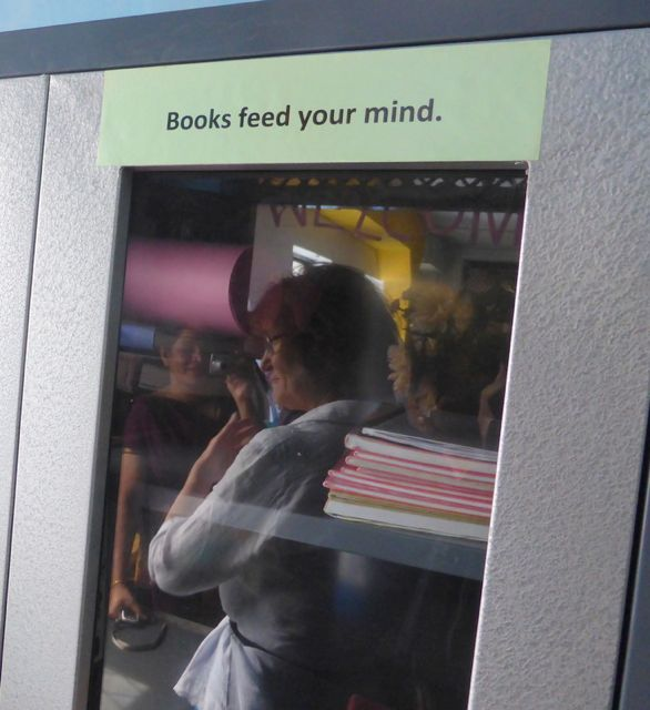 Books feed your mind