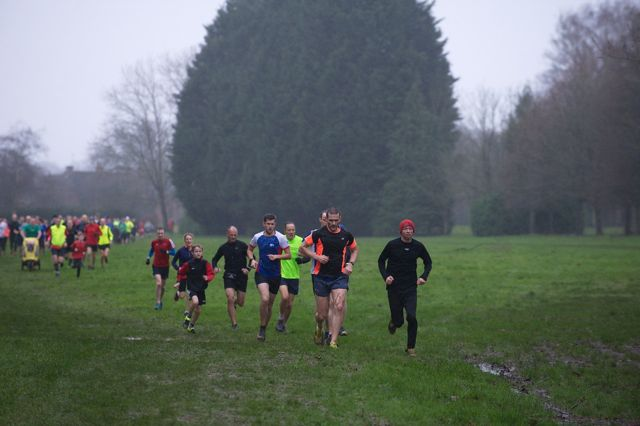 Eastleigh parkrun - Jan 2016. Image credit: Paul Hammond